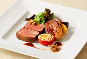 かずさ和牛のステーキ